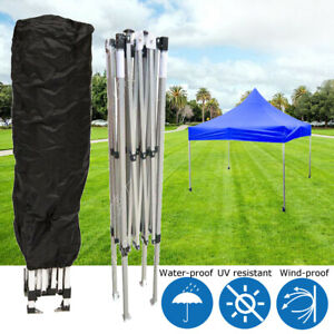 Awning Tent Pole Storage Cary Bag With Drawstring Frame Poles 10//15//20Ft Large