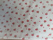 Windham Middleton Place Mauve Pink Red Rose Floral Quilt Fabric 37501-1 4B