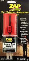 Zap Fly Fishing Adhesives Quick Set Epoxy Fly Fishing Tying Glue Fly Rod
