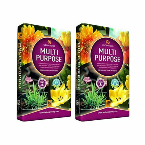 Growmore 120L of Multi Purpose Garden Potting Compost - Ideal for All Gardens UK