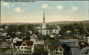 Danielson-CT-Birdseye-View-c1910-Postcard