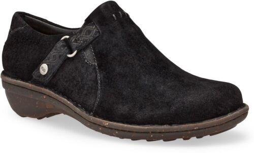 Olender Chaussures Australie Doublé Femmes D'agneau Cuir Sabots Suédé Ugg Peau EqTFwz