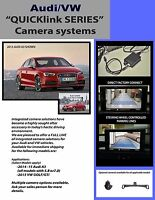 Integrated Backup Camera Safety System Audi A4 S4 Rs4 2009-2016