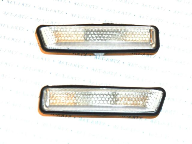 BMW 5 Series E39 96-03 Crystal Smoked Side Indicators Repeaters Pair Set N//S O//S