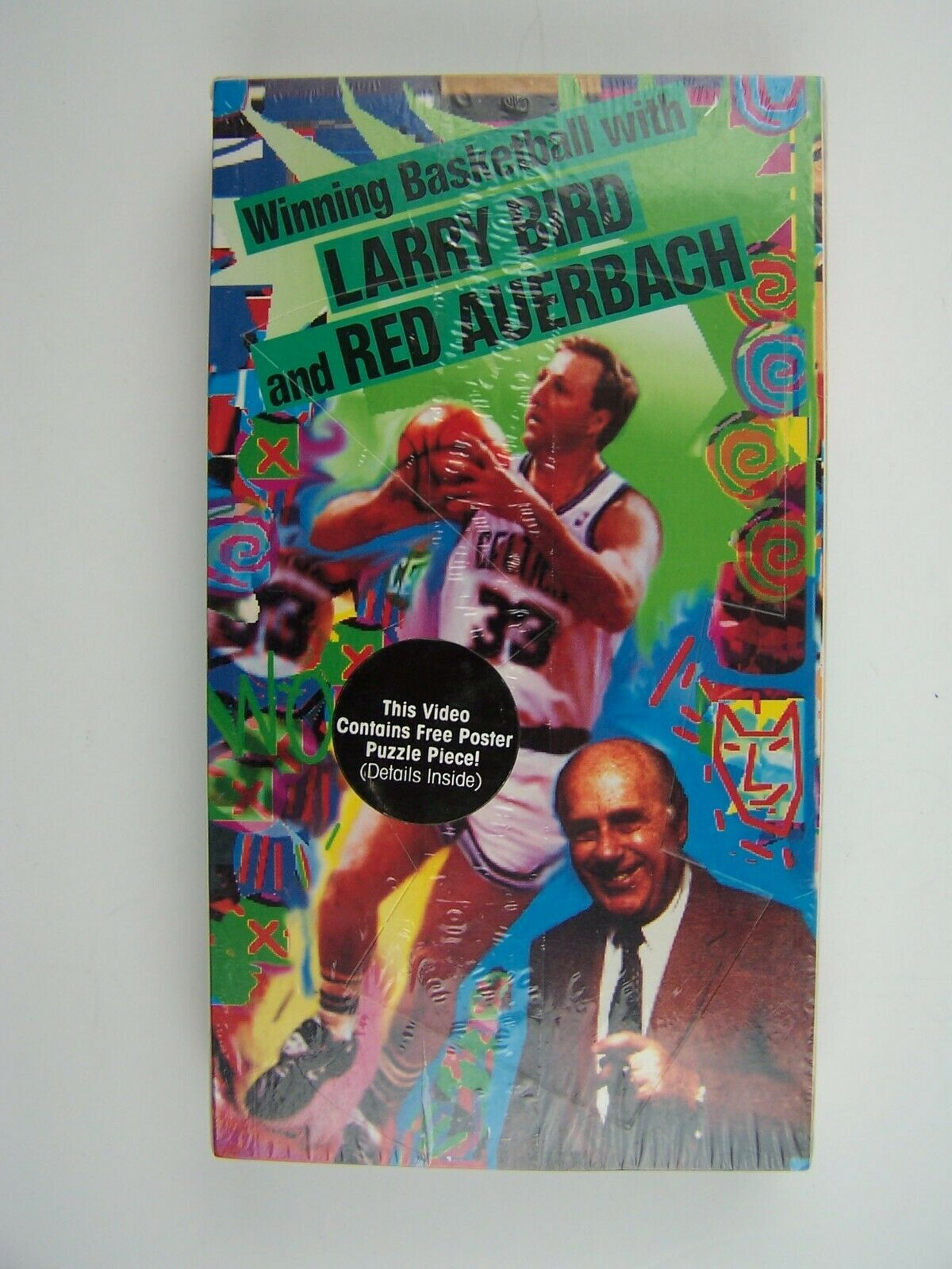 Winning Basketball with Larry Bird and Red Auerbach VHS