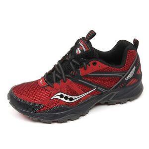 C5034 sneaker uomo SAUCONY GRID EXCURSION TR8 rosso/nero shoe man