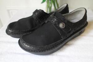 Alegria-Womens-Dream-Fit-Black-Leather-Neoprene-Dena-DEN-435-size-43-TAC1000