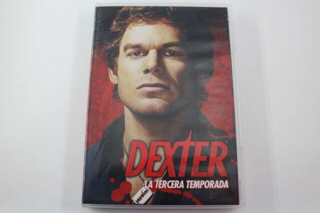 DVD DEXTER TERCERA TEMPORADA  BUEN ESTADO