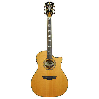 Amicable D'angelico Guitar Excel Gramercy Acoustic Electric Guitar Guitars & Basses Vintage Natural Supplement The Vital Energy And Nourish Yin Musical Instruments & Gear