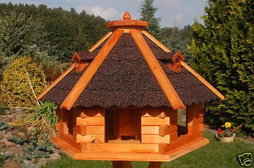 Riesiges XXL Vogelhaus Vogelhaus Vogelhaus Futterhaus Vogelfutterhaus Vogelhäuschen Holz 67x45 cm | Niedriger Preis und gute Qualität  | Deutschland Store  | Verrückter Preis  a9ffb4