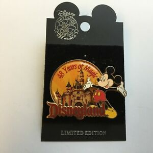 Disneyland-48-Years-Of-Magic-Mickey-Mouse-Limited-Edition-Disney-Pin-0