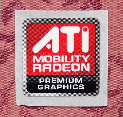 ATI Mobility Radeon Premium Graphics Sticker 16 x 19mm