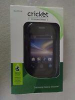 Cricket Samsung Galaxy Discover Kickstand Shield Black Sku Cpc1145 Brand