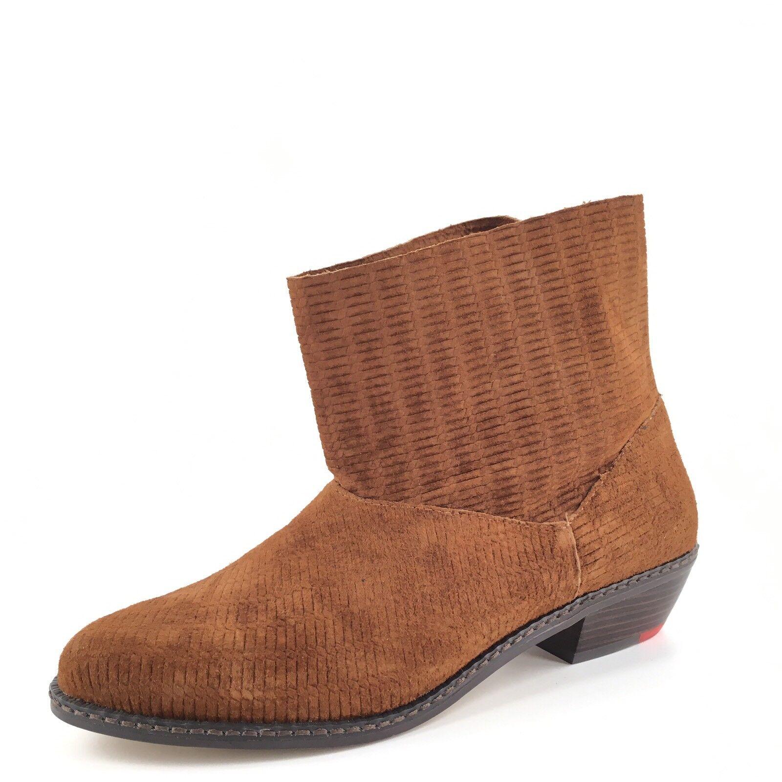 Joe's Jeans Star II Chestnut Brown Short Boots Women's Size 6.5 M
