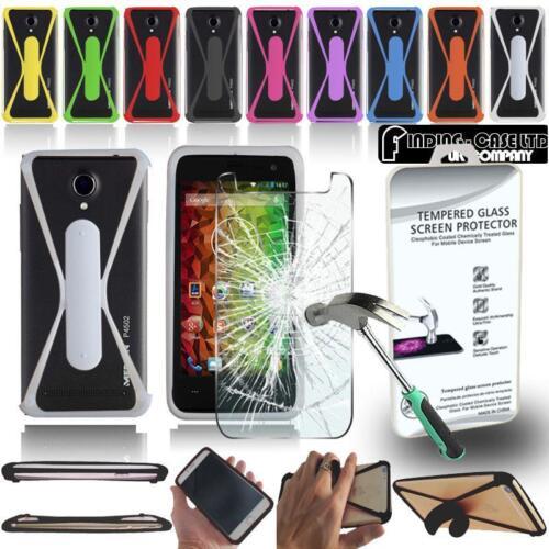 Estuche Paragolpes De Silicona Para Teléfonos Aldi Medion Vida Vidrio Templado Protector De Pantalla