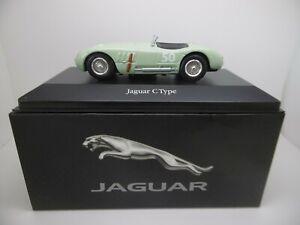 Jaguar-C-type-50-Sir-Stirling-Moss-GP-Coche-Modelo-1-43-Escala-Ref-Gj
