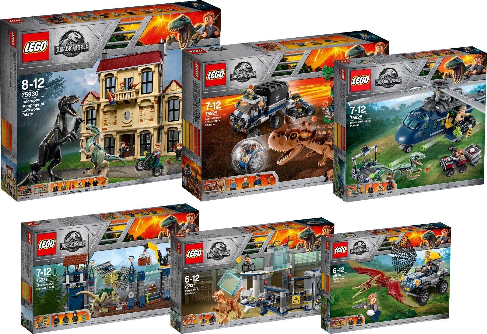LEGO Jurassic World 75931 75930 75929 75928 75927 75926 T. Rex n6 18