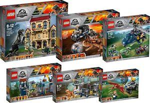 LEGO Jurassic World 75931 75930 75929 75928 75927 75926 T. Rex N6/18