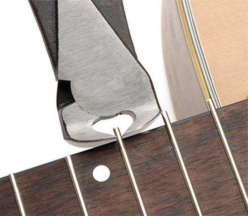 Alicates de corte corte corte de traste Cortador trastes para guitarra Maker O Reparador 29494f