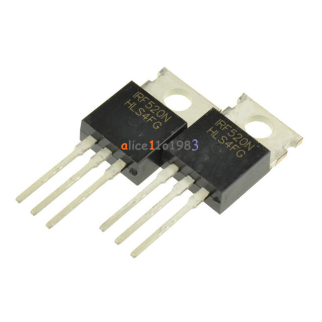 10PCS IRF520N IRF520 Power MOSFET N-Channel TO-220