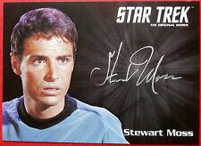 STAR TREK TOS 50th Stewart Moss as Joe Tormolen LIMITED EDITION Autograph Card