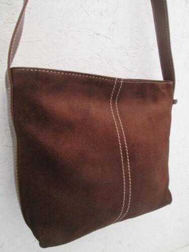 À Lancel Bag Et Vintage Cuir Main Tbeg Sac Magnifique Daim Suédé 45qOPSw