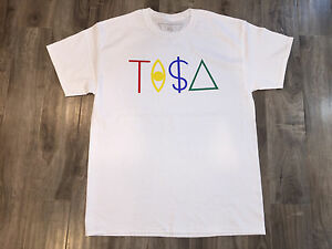 867b755af9254 TISA T-SHIRT TI A - WHITE SNAPBACK TYGA LAST KINGS BIG SEAN   eBay