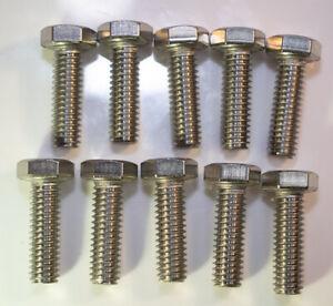 "5//16-18 X 1//2/"" Hex Bolt Brass Free Shipping 10pcs"