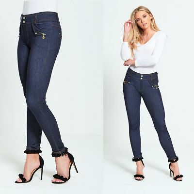 GüNstiger Verkauf Womens Denim Skinny Ripped Pants Leggings Stretch Jeans Slim Pencil Trousers Hot