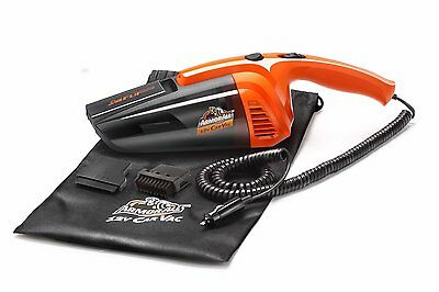 Dry Vacuum Cleaner with Washable Filter AUTO SUV NEW Armor All 12V CAR VAC Wet
