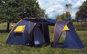 Image is loading NEW-Easy-C&-Modena-5-To-7-Berth- & NEW Easy Camp Modena 5 To 7 Berth Person Dome Tunnel Tent Cheap ...
