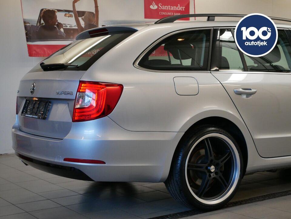 Skoda Superb 2,0 TDi 140 Ambition Combi Diesel modelår 2014