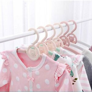 Colorful-Baby-Clothes-Hangers-Coat-Hanging-Rack-Baby-Kids-Plastic-Garment-Hanger