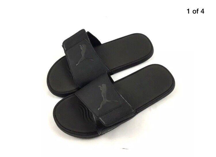 7bfec323e50c BNIB Mens Black PUMA Sliders   Slip Ons   Sandals Starcat Tech UK Size 11