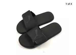 Puma Slip Uk 11 Bnib Ons Sliders Mens Starcat Sandals Black Size Tech IPzxw6z