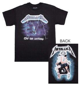 Metallica-Ride-the-Lightning-T-Shirt-Small