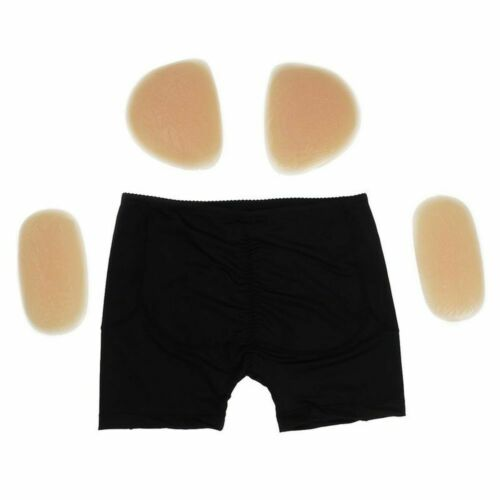 Silicone Hip Lifter Buttock Pads Underwear Hip Removable Enhancer Shaper Brief