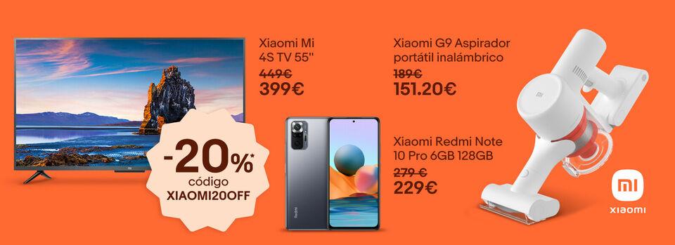 Empieza a ahorrar - ¡Desata la locura Xiaomi con este -20%*!