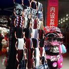 New 28 Ring Slots Hole Design Scarf Belt Tie Hanger Closet Organizer Holder Hook
