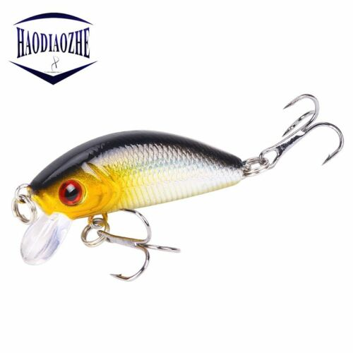 Minnow Lure Fishing Lures 5cm 4g Floating Isca Artificial Japan Hard Bait Bass