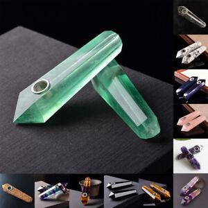 Natural-Amethyst-Fluorite-Lapis-Lazuli-Crystal-Quartz-Smoking-Pipe-For-Tobacc-RA