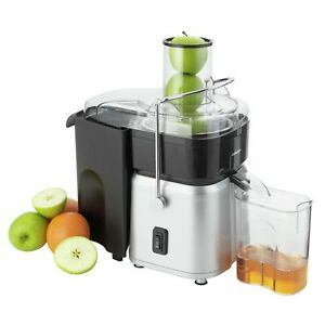 Details about Cookworks Whole 700W 0.8L Fruit Juicer Stainless Steel.