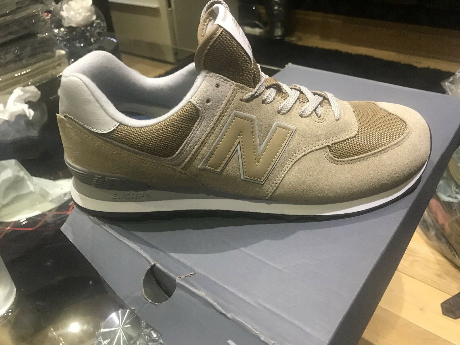 Mens New Balance Trainers ML574EBE UK12.5