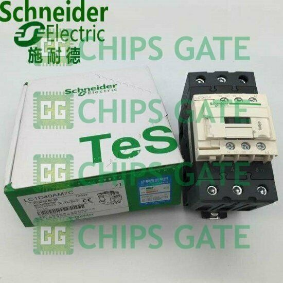 1PCS Brand New Schneider ac contactor LC1D40AM7C Fast Ship