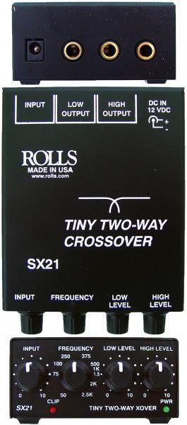 Rolls SX21 Tiny crojover de 2 vías vías vías  el estilo clásico