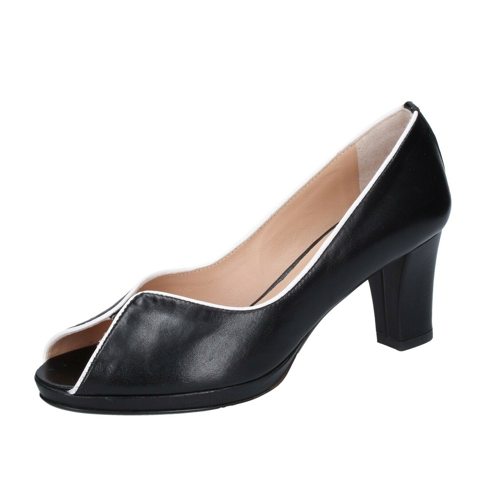 damen schuhe CLOE 4 (EU 37) courts schwarz leather BS339-37