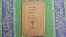 DE LA GUERRE CIVILE POÈME DE PETRONE / MARC-ANTOINE CHALVET  / 1864