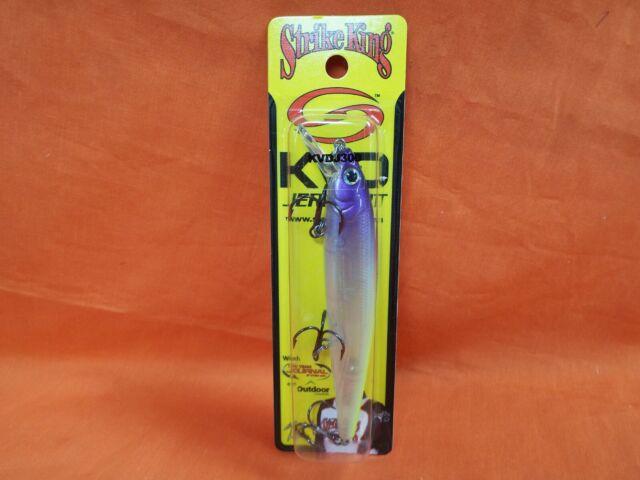 "Strike King KVD Jerkbaits 4 1//4/"" 1//2 Oz Pro Purple Headed Hammer Qty 1 for sale online"