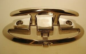 FOLDING-CLEAT-Mount-Accon-Boat-Hardware-Stainless-Steel-316-grade-3-1-2-034