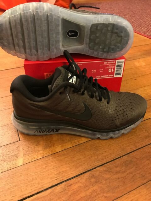 Nike Air Max 2017 Cargo Khaki Black Mens US Size 8 UK 7 EUR